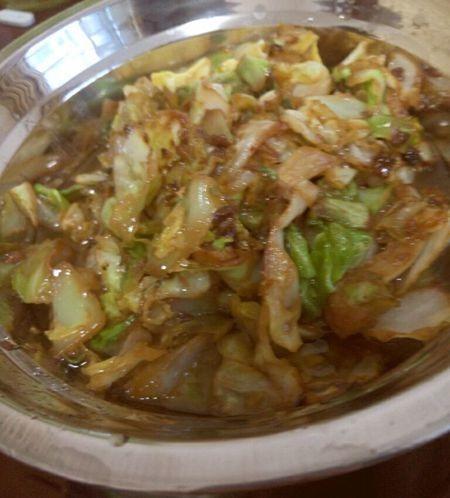 第一次炒菜